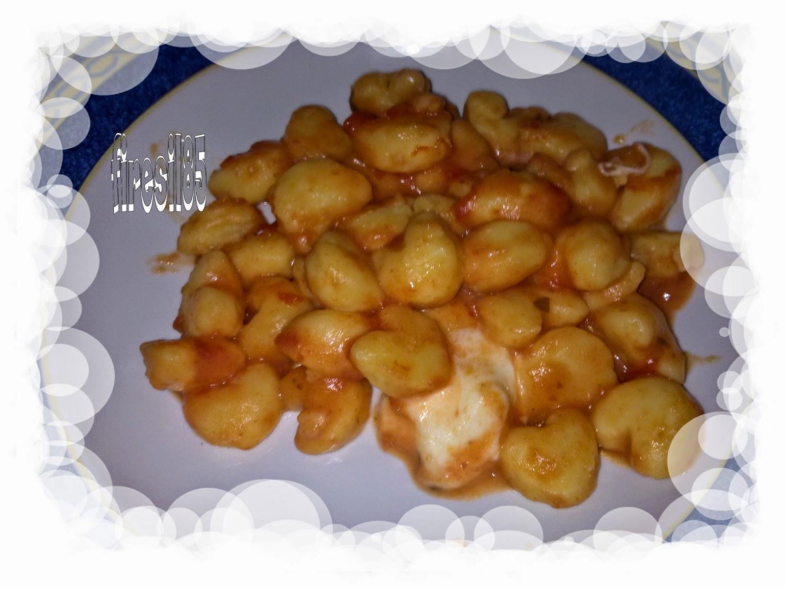 gnocchi di patate a forma di cuore
