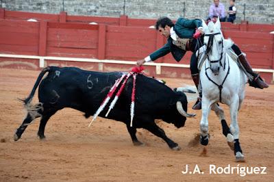 Sergio Galán en la corrida goyesca de Aranjuez