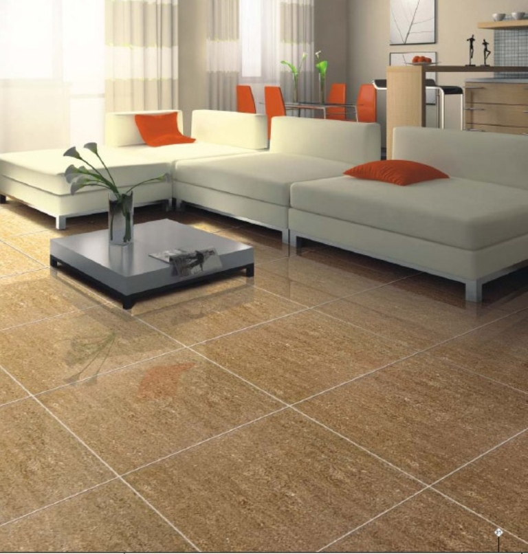 How to care for porcelain tile floors
