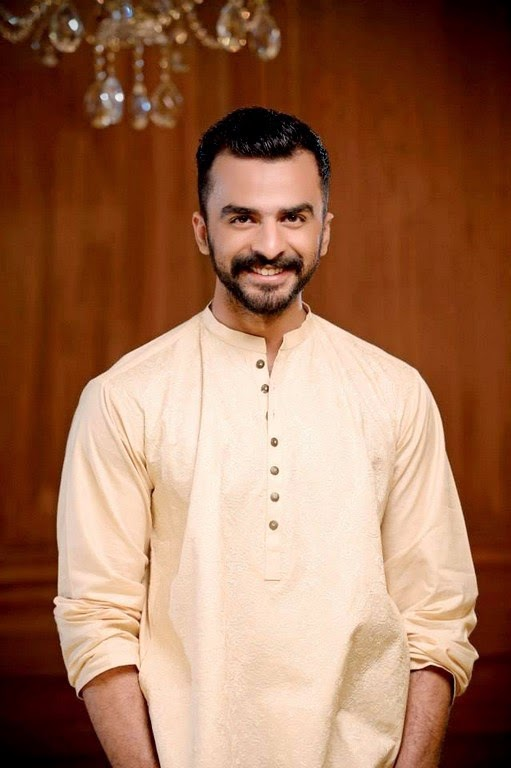 Hadiqa Kiani Men Kurta Collection 2014
