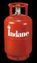 Indane gas cylinder