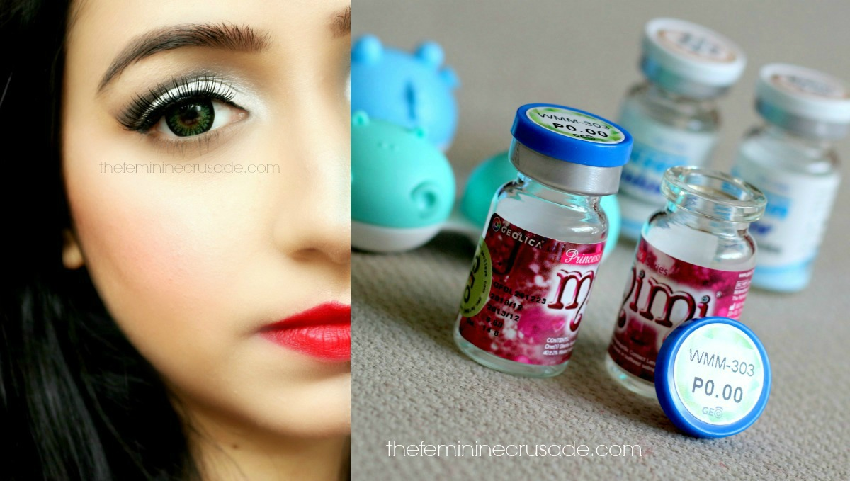 Pinky Paradise Princess Mimi Apple Green Circle Lenses