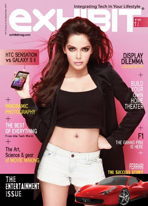 Shazahn Padamsee - Shazahn Padamsee On Exhibit Magazine Cover September 2011 Issue