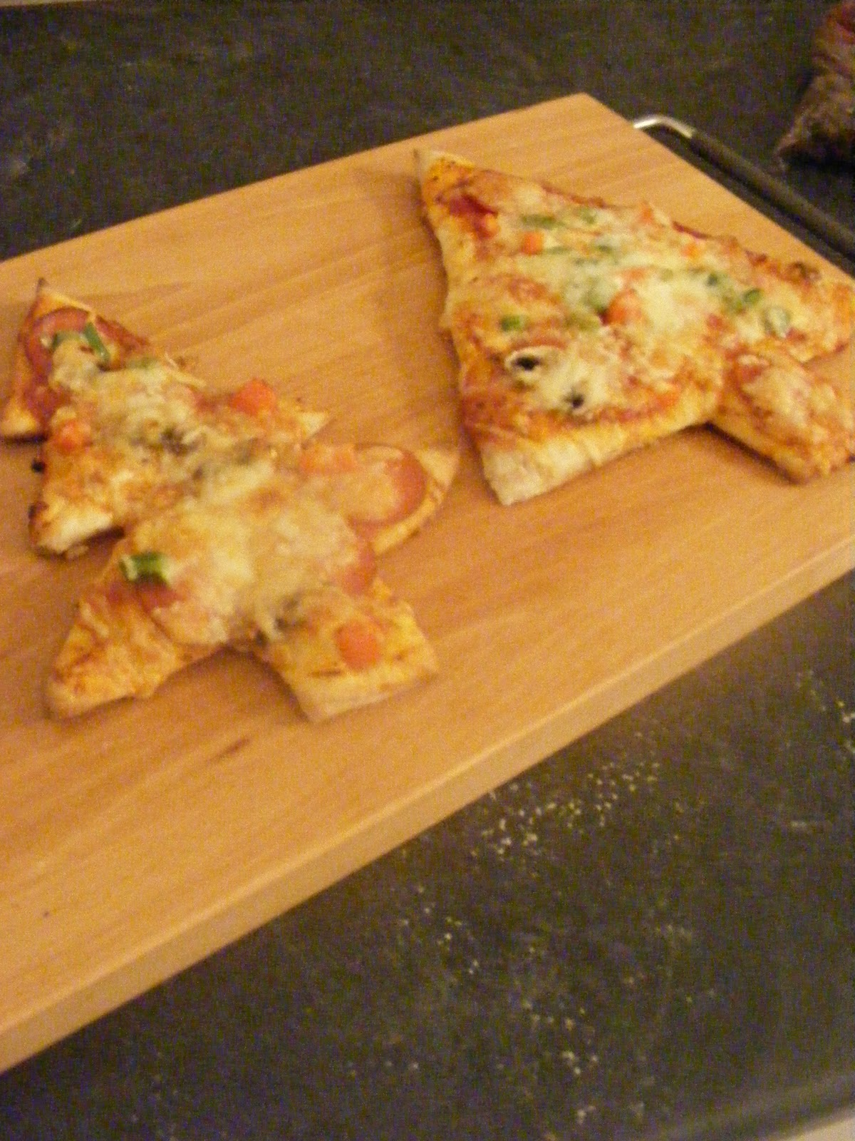 ... Homemaking: Christmas Pizza (and my homemade pizza dough recipe
