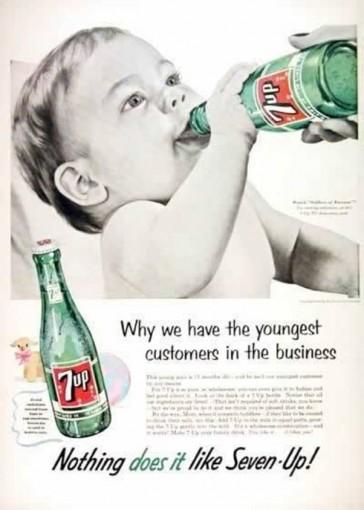 7up poor target market is a sign of bad marketing