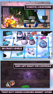 Ms. Splosion Man v1.0 for iPhone/iPad