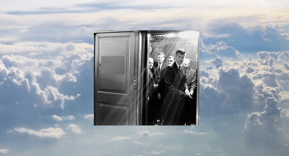 SAIC Gerald Behn & JFK, looking down from Heaven, very disappointed in Blaine's book