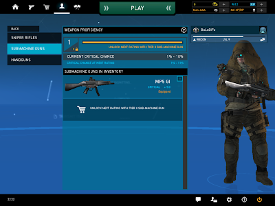 Ghost Recon Online - Submachine Gun Weapon Proficiency