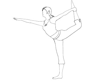 #3 Wii Fit Trainer Coloring Page