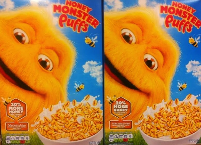being tillys mummy honey monster puffs a healthy cereal