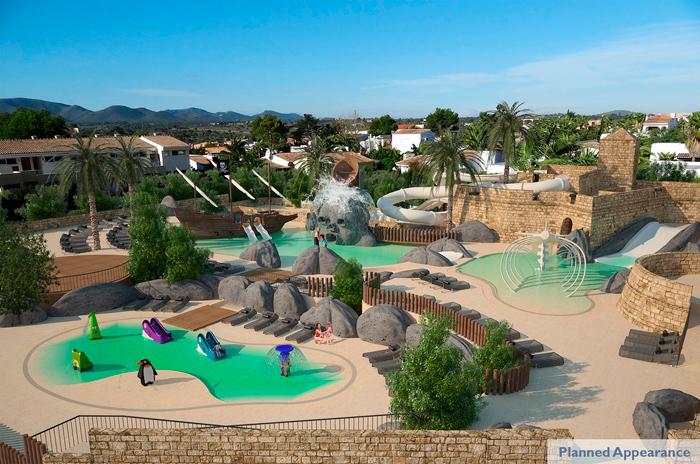 Hoteles para ni os porto cristo novo mallorca insotel cala mand a resort - Hotel piscina toboganes para ninos ...