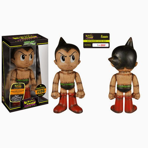 """Distressed"" Astro Boy Hikari Sofubi Vinyl Figure by Funko"