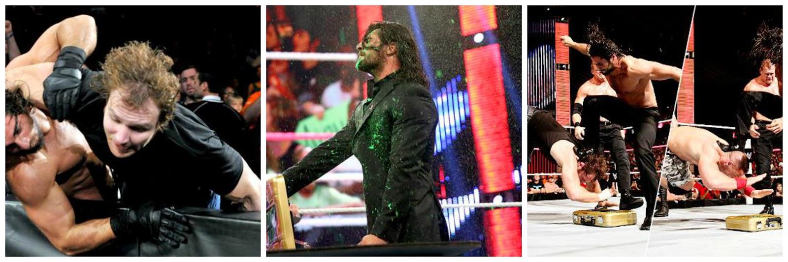 Dean Ambrose, Seth Rollins, John Cena, Randy Orton