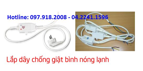 Bán dây chống giật cho bình nóng lạnh tại Hà Nội