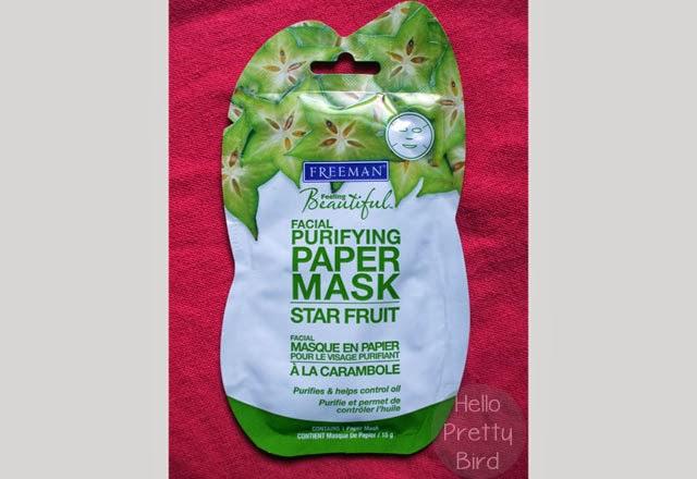 Freeman Feeling Beautiful Star Fruit Purifying Facial Paper Mask