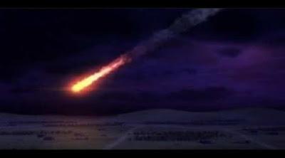 Meteorito en Irán