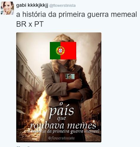 Guerra de Memes - Brasil VS Portugal