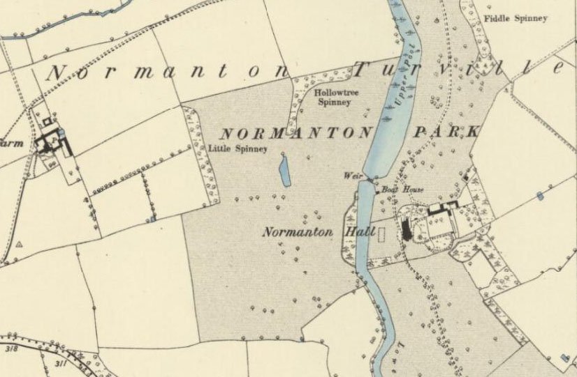 R T Pointer Norwich Normanton Turville  from the