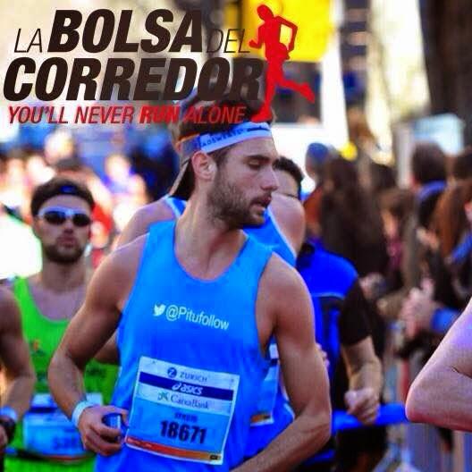 zurich marato barcelona 2015 pitufollow la bolsa del corredor
