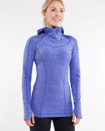 lululemon back on track midlayer running pullover
