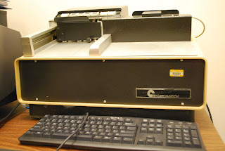 Image of the punched card reader purchased and repaired by ICPSR for the project
