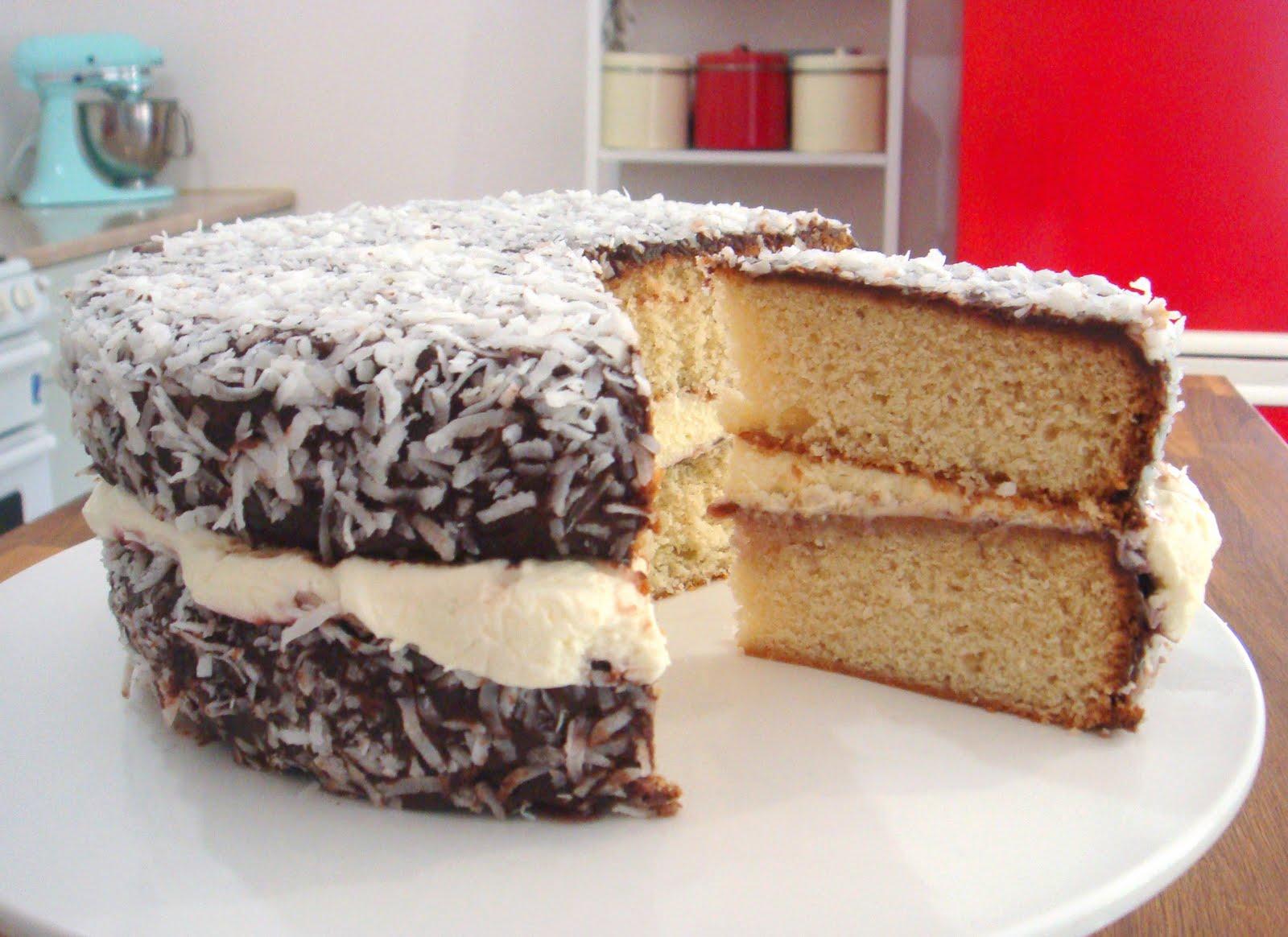 How To Make Lamington Cake
