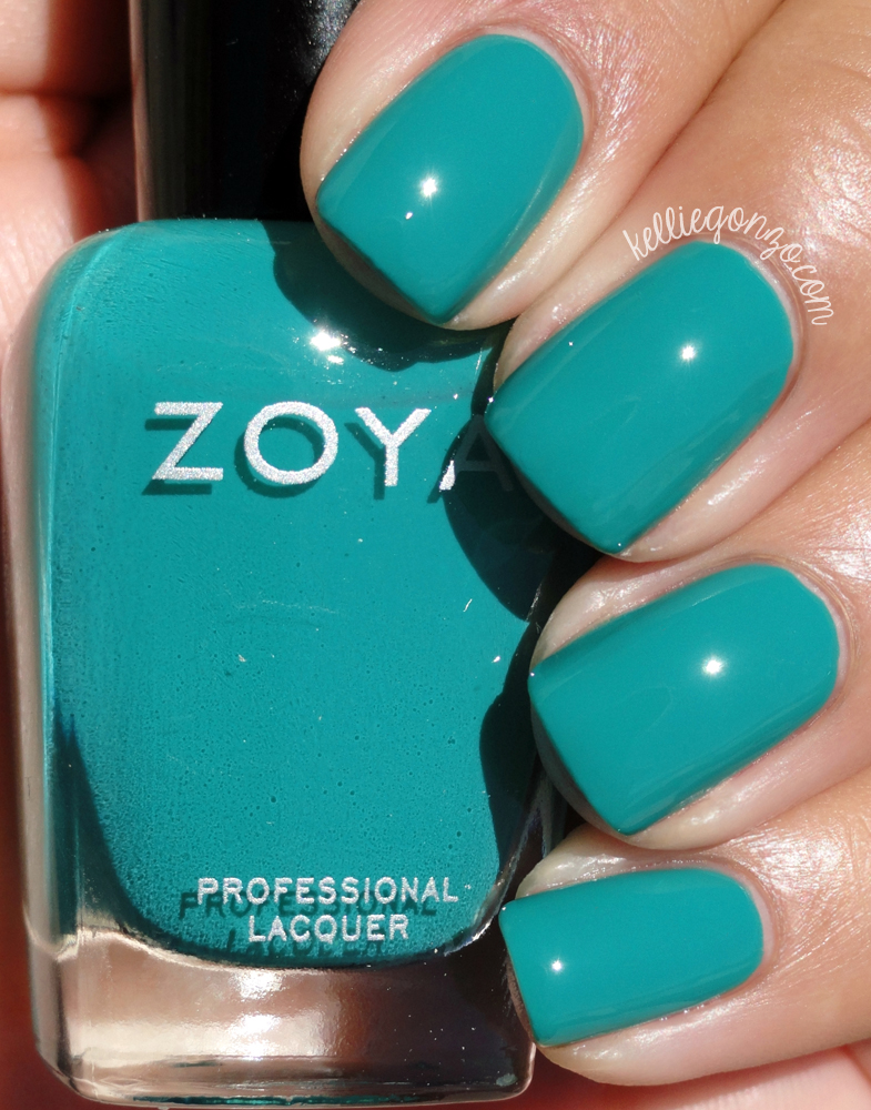KellieGonzo: Zoya Summer 2015 Island Fun Collection Swatches & Review