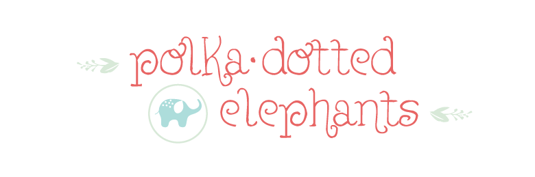 polka-dotted elephants