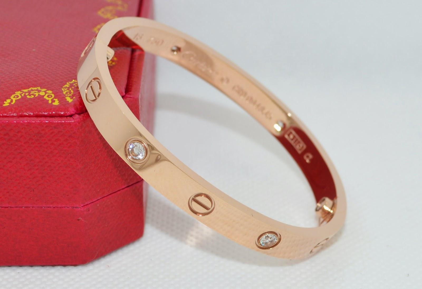 happiness pursuit cartier love bracelet replica for christmas