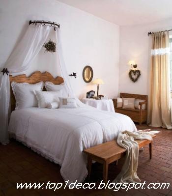deco style chambre romantique et ciel de lit. Black Bedroom Furniture Sets. Home Design Ideas