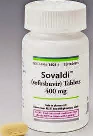SOVALDI is a nucleotide analog polymerase inhibitor, that use in patients with chronic hepatitis C, in combination with ribavirin or interferon plus ribavirin, and the cure rate in clinical trials reached 95%