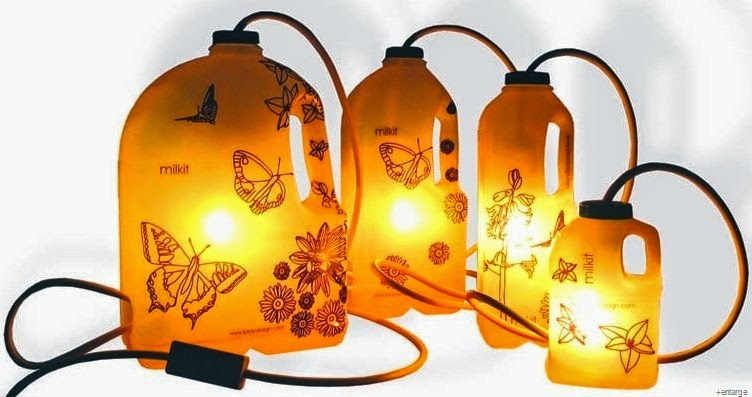 The art of up cycling repurposing ideas quirky ideas to for Repurposed milk cans
