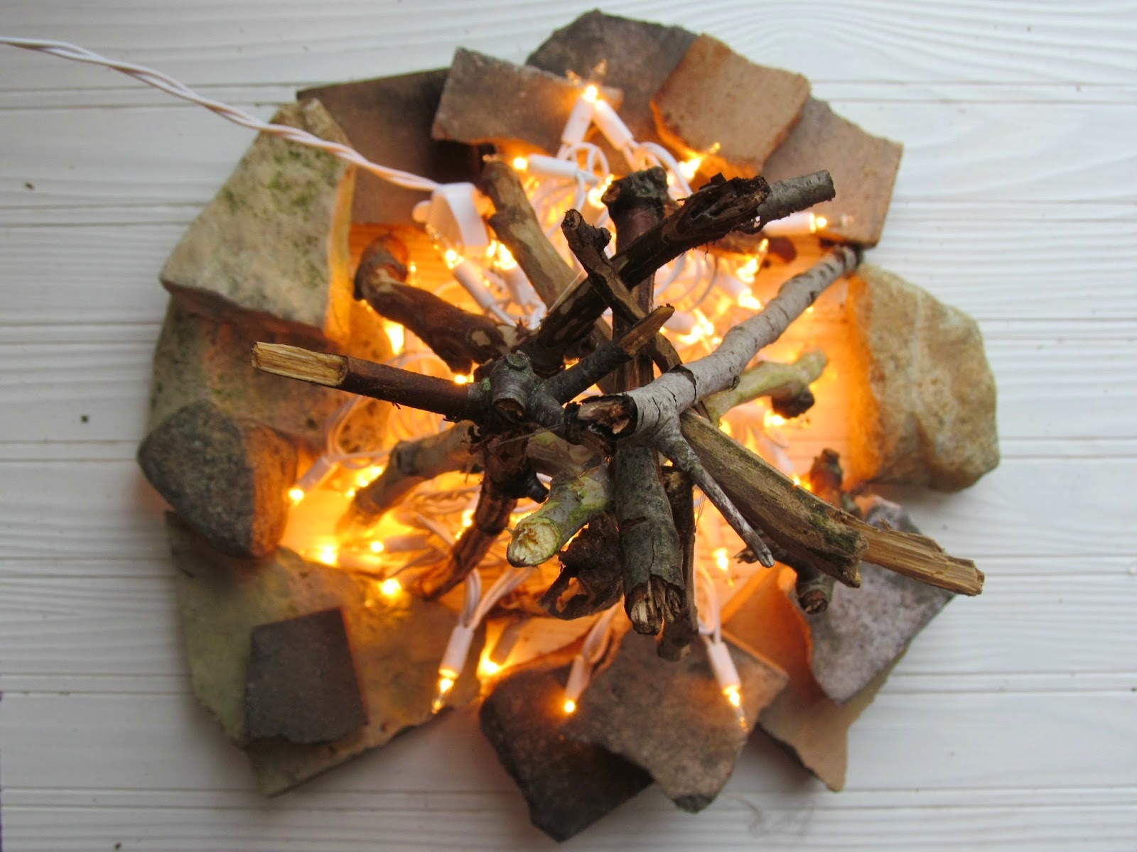 Diy Flameless Fire Pit A Piece Of Creativity