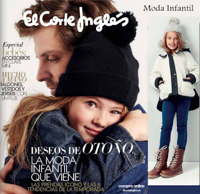 folleto corte ingles moda kids 2015