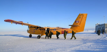 'Luckiest 2 guys in the Arctic' rescued by military plane training for search and rescue