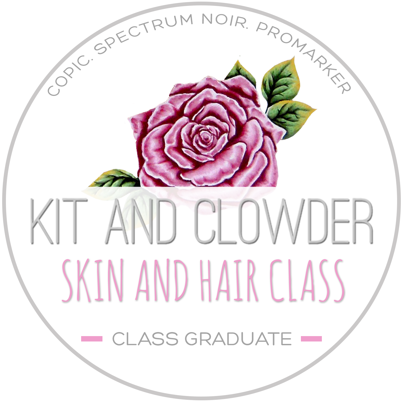 I graduated Skin & Hair!!