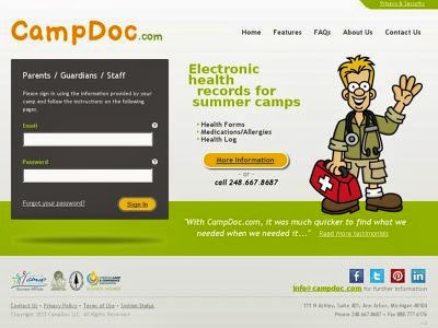 Summer Camp Medical Software - CampDoc