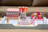 Party: Chevron Dot Birthday