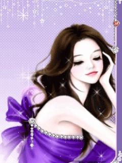 beauty girl animasi