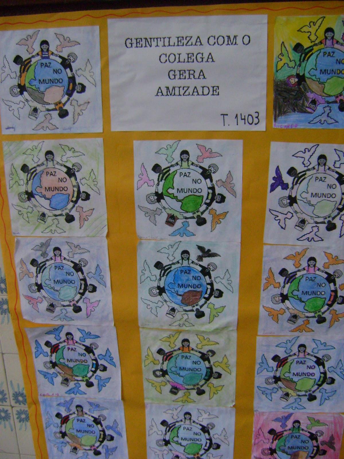 Escola Municipal Professor Augusto Paulino Filho: O PROJETO GENTILEZA  #896518 1200 1600