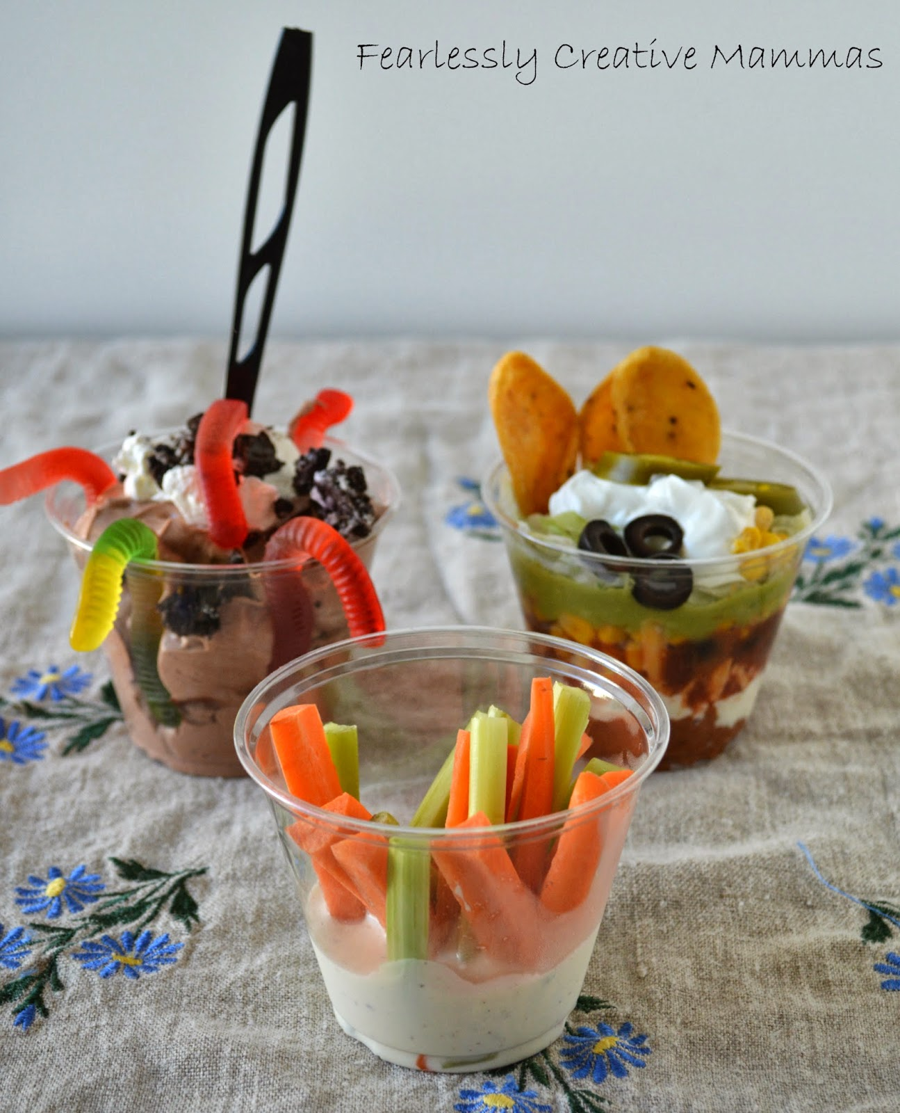 party appetizers day 1 - fearlessly creative mammas