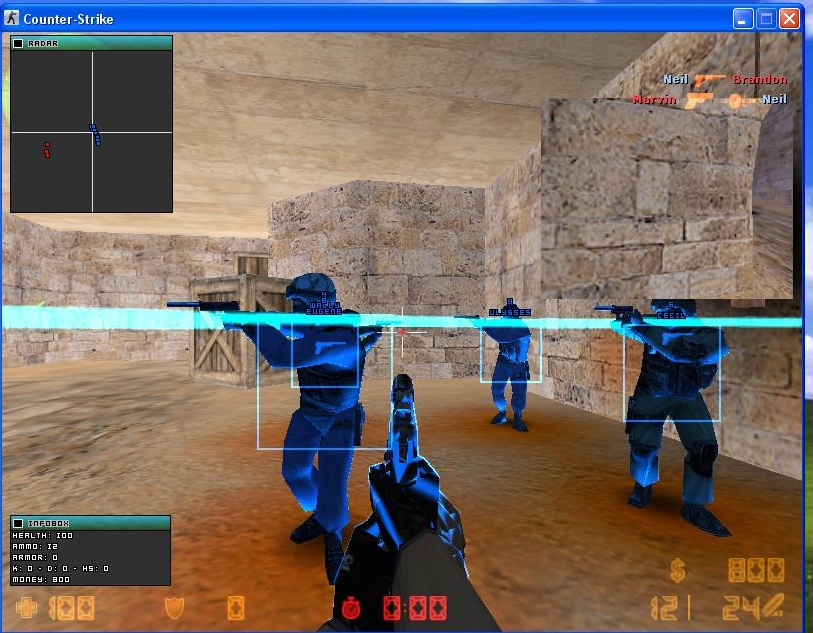 counter strike 1.6 professional edition hack