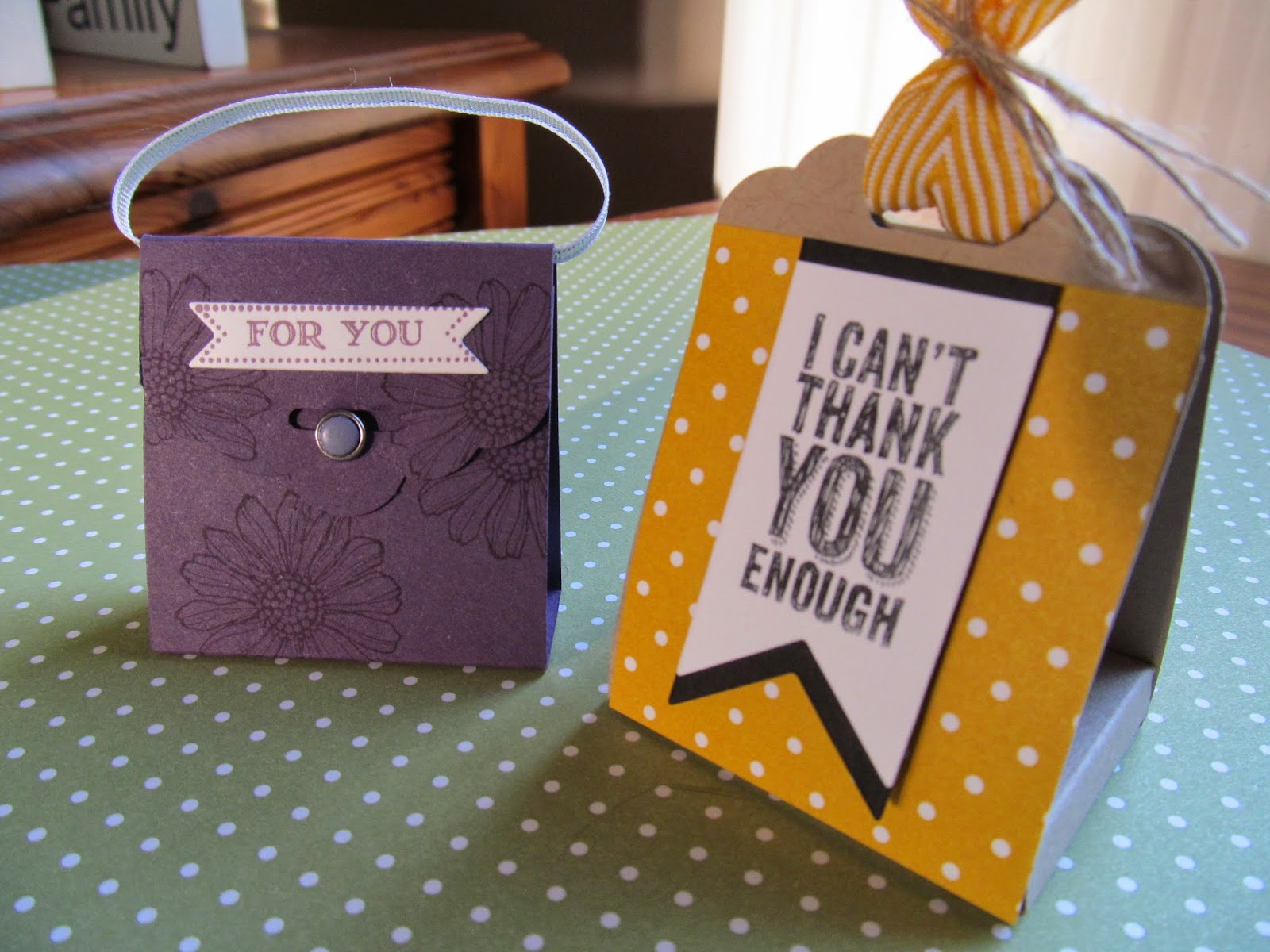 Special project Class Tag Topper Punch Stampin' Up!