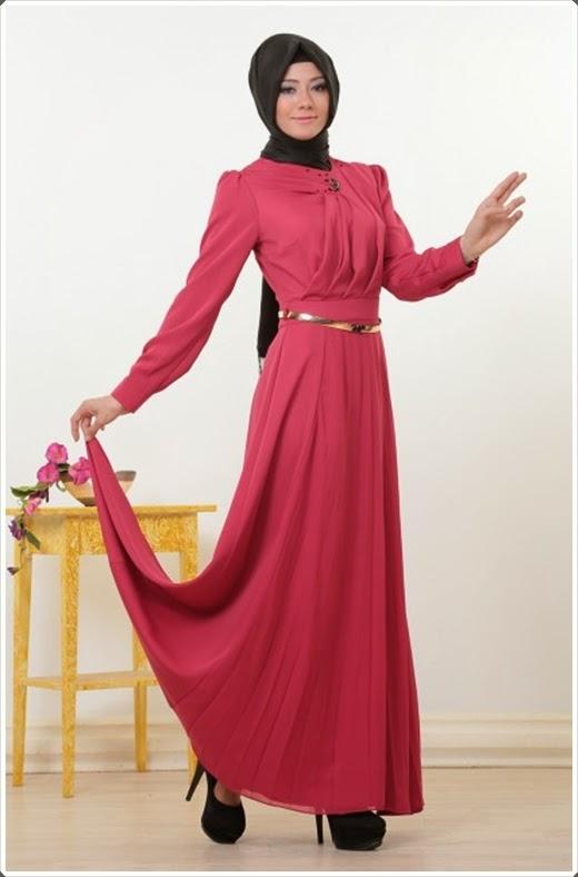Doque 2014 Tesettür Elbise Modelleri
