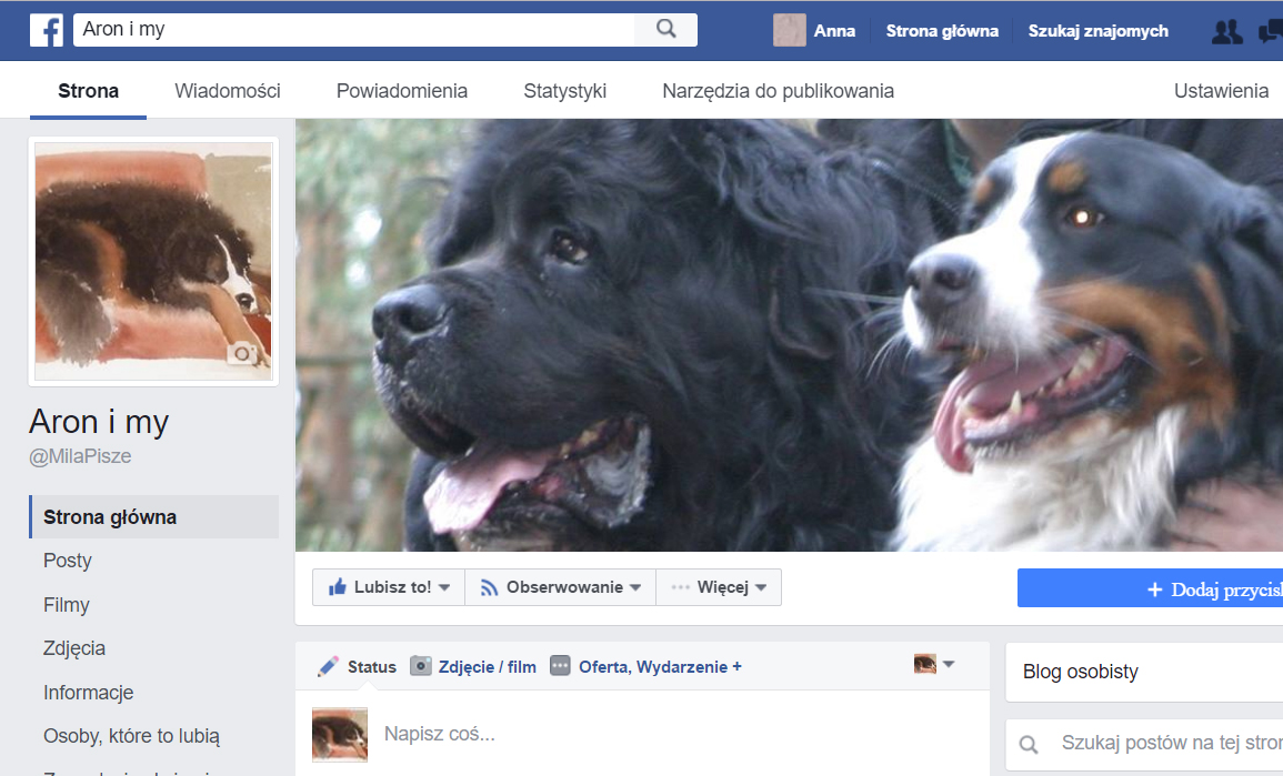Jesteśmy też na FB