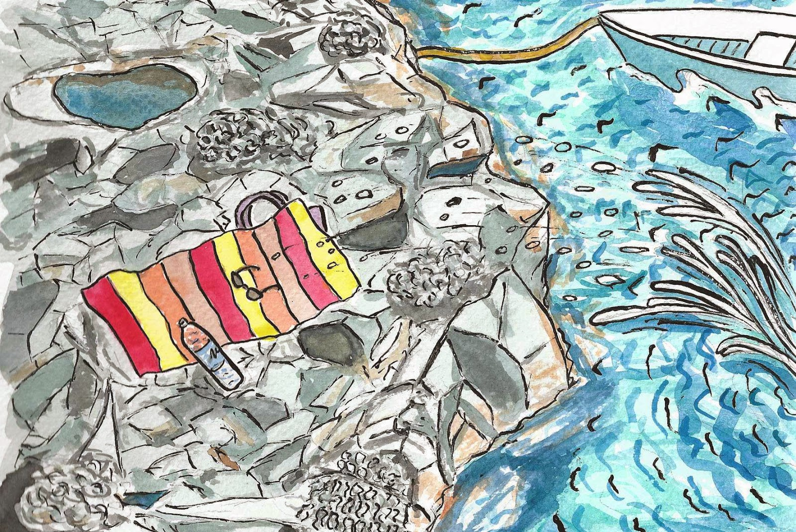Comment plonger en Sicile ou la grenouille et le soleil