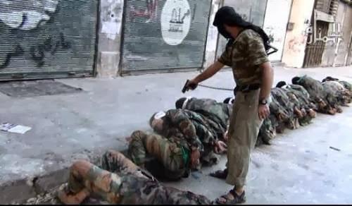 Mujahidin Jabhah An-Nusrah Mengklaim Bertanggung Jawab atas Eksekusi 20 Tentara Suriah