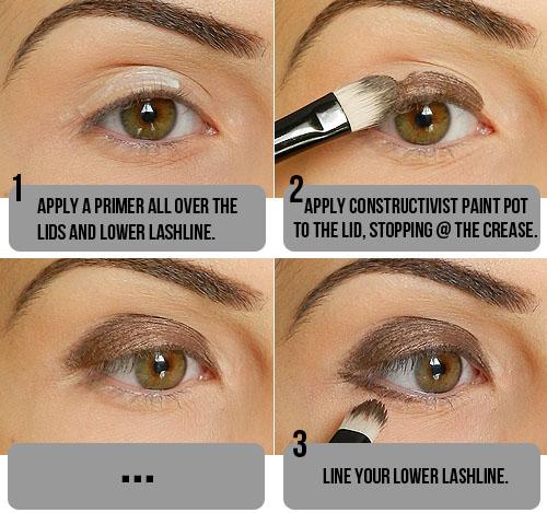 tutorial by  mac Eyeshadow Step Taupe natural Step makeup Tutorial! look Smokey