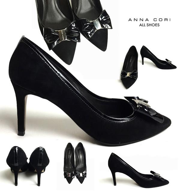 Pantofi piele intoarsa Anna Cori