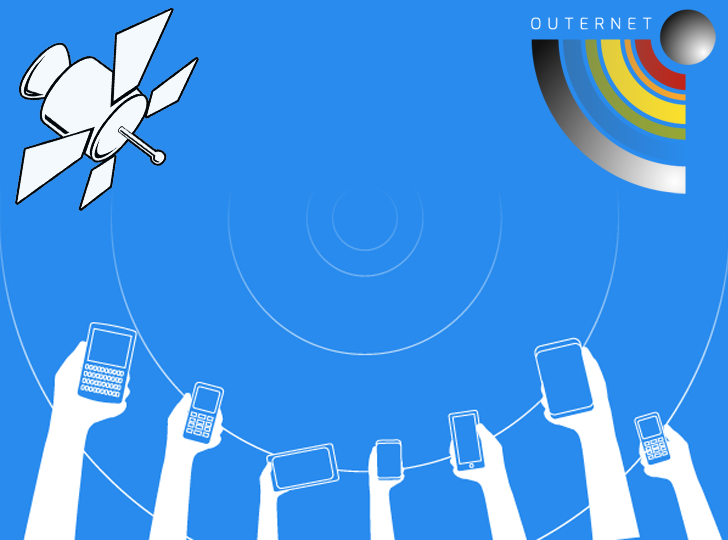 Outernet free access internet to entire world